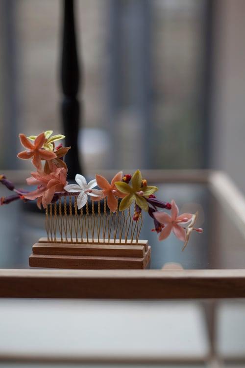 Image of Peigne petites fleurs stella