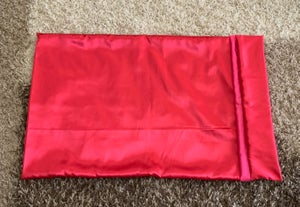 "Image of ""Plain Jane"" Red&Pink pillowcase"