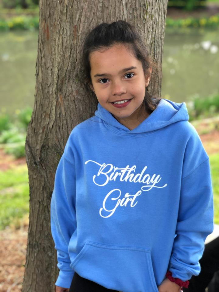 Image of Birthday Girl ~ hoodie (youth)