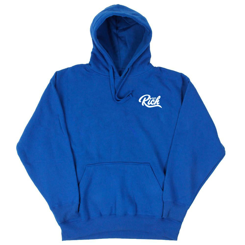 "Image of Get Rich ""Pullover"" Hoodie -  Royal Blue"