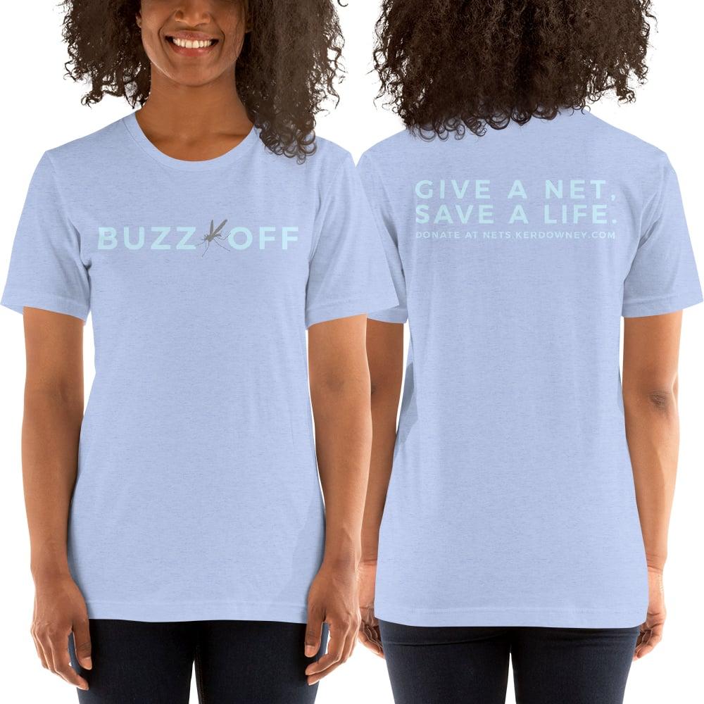 Image of Ker & Downey for Africa Unisex Heather Blue Shirt