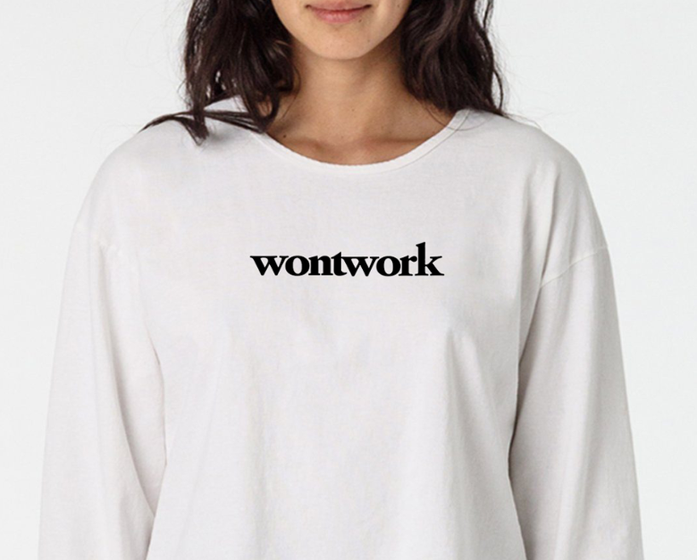 Image of wontwork shirt