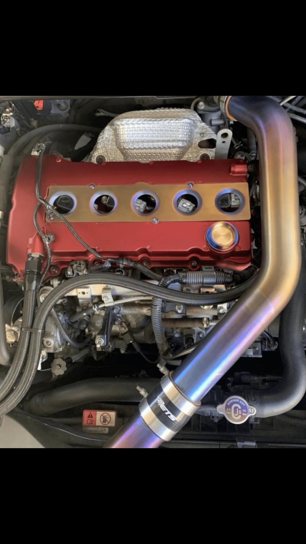 Image of Mitsubishi Evo X titanium oil cap