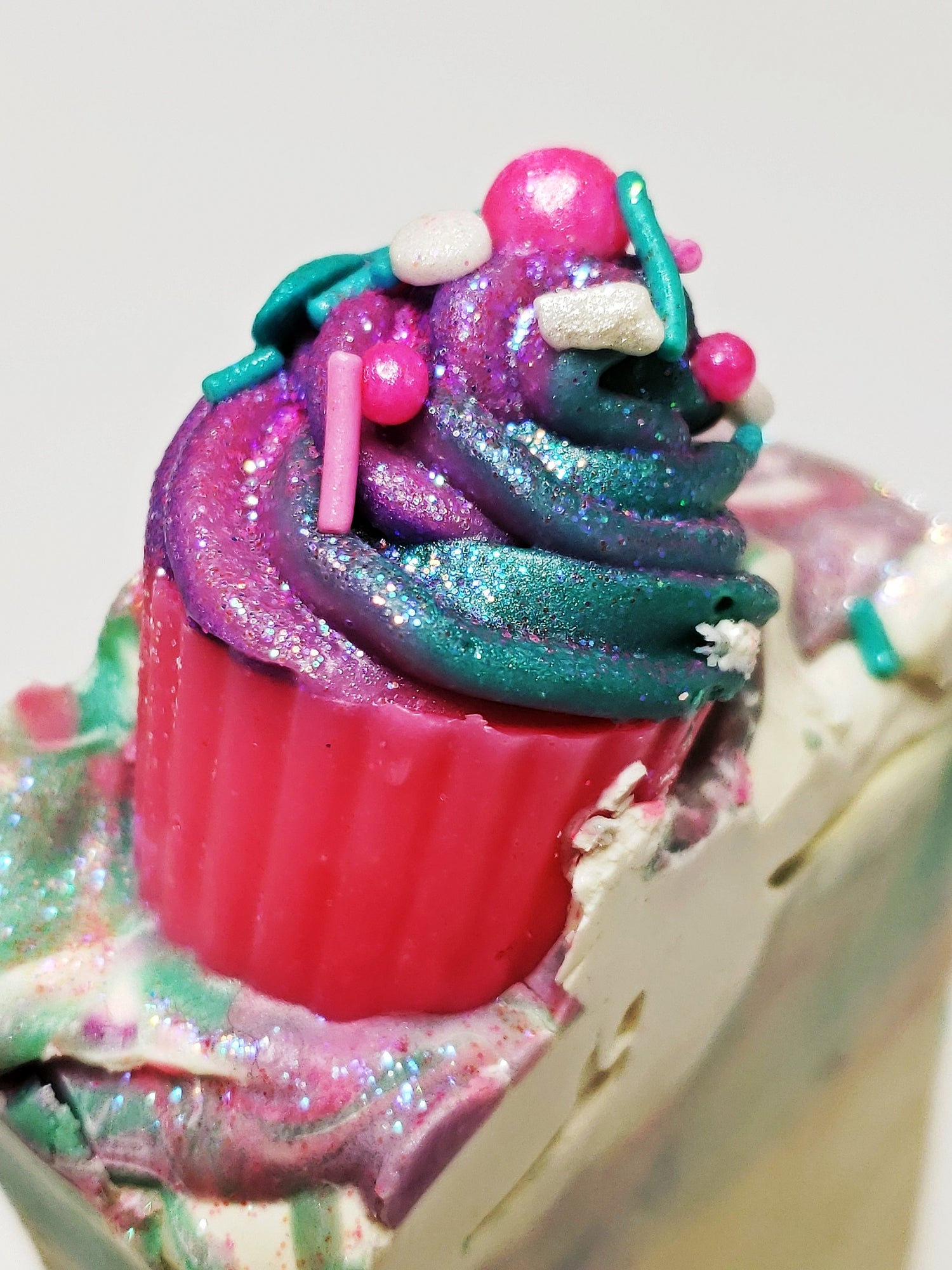 Image of LET THEM EAT CUPCAKES HANDMADE SOAP (COCONUT OIL-FREE)
