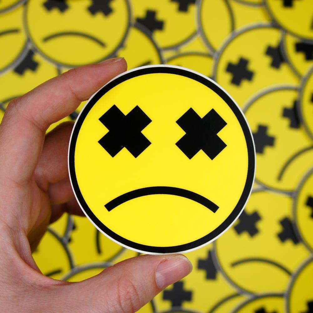 Image of Sad Smiley Sticker
