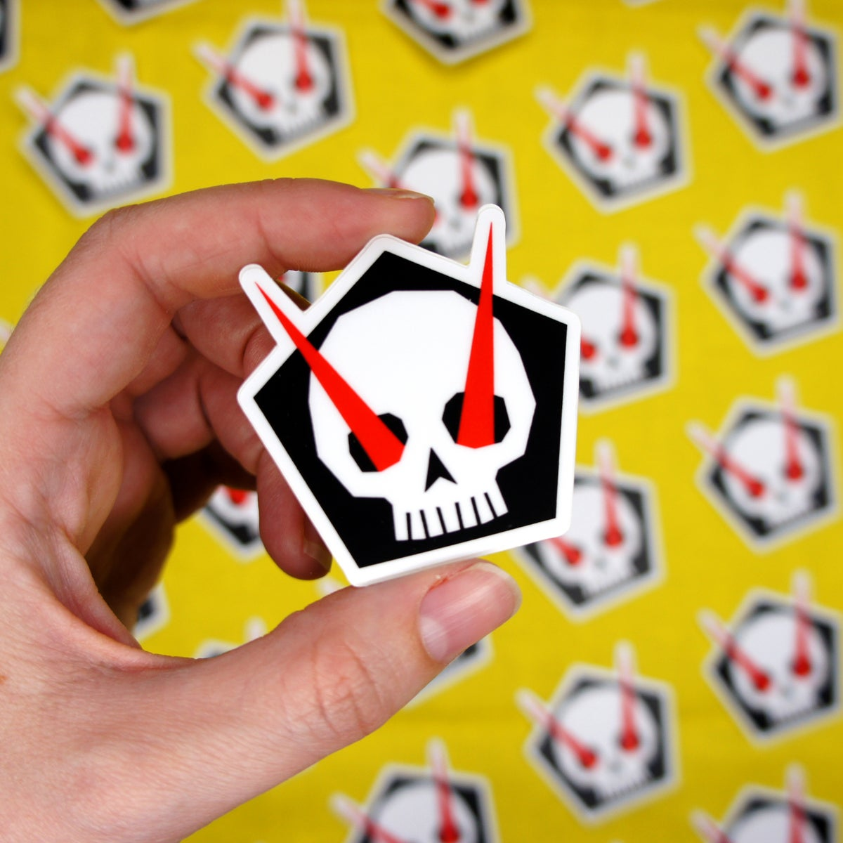 Image of Devil's Eyes Sticker