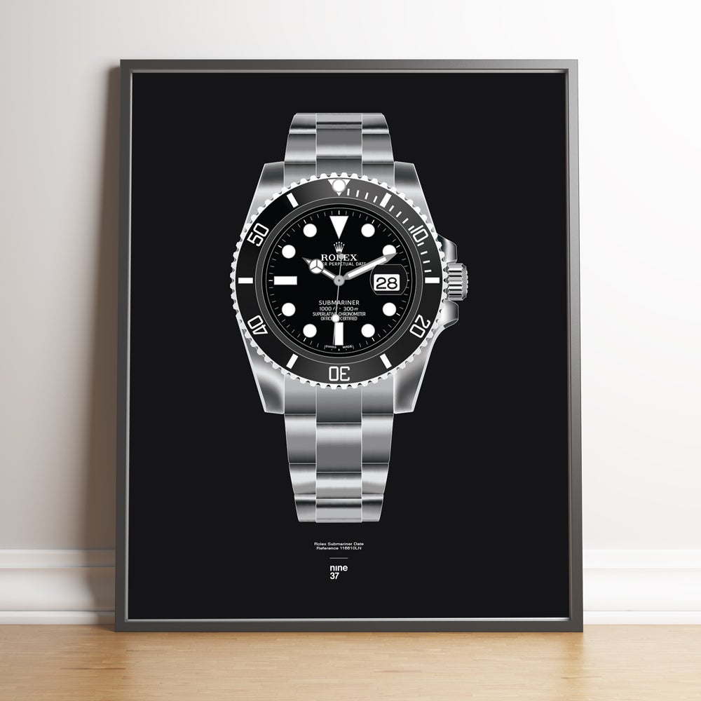Image of Rolex Submariner 116610LN Bracelet Print