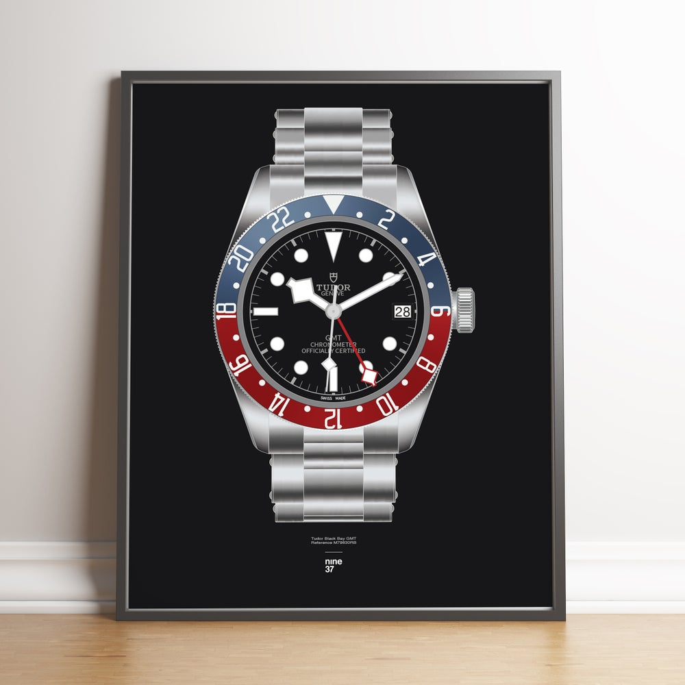 Image of Tudor Black Bay GMT Bracelet Print