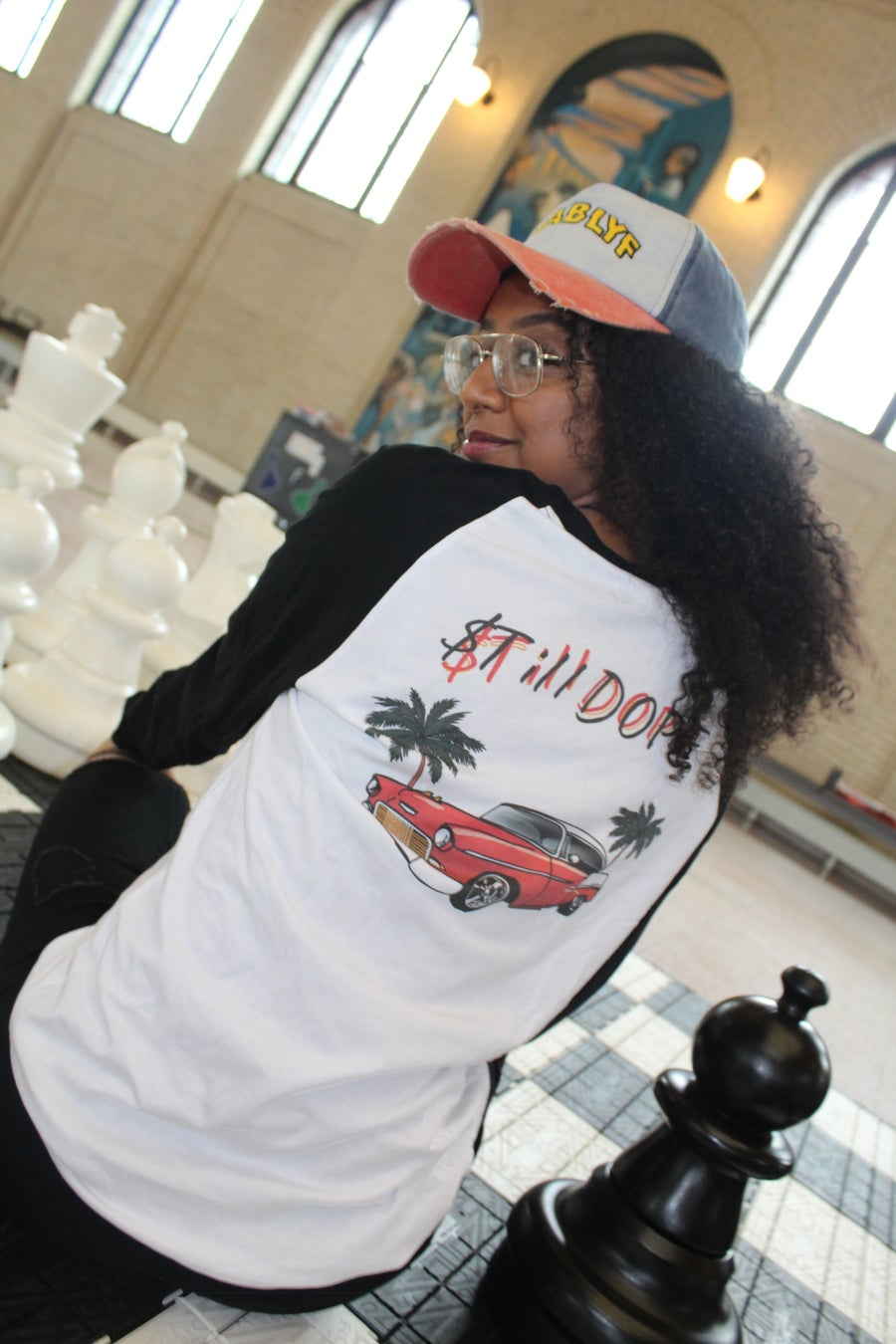 Image of STILL DOPE RAGLAN SHIRT