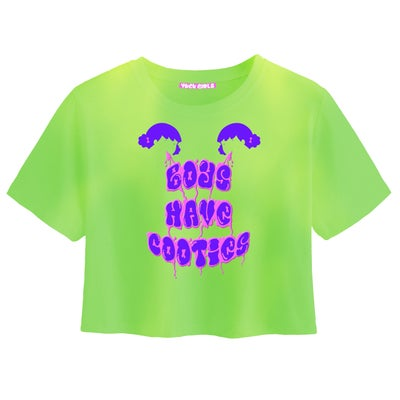 Image of 'Boys Have Cooties' Heat/Water sensitive Tee