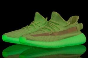 Image of Yeezy 350 v2 Gid Glow