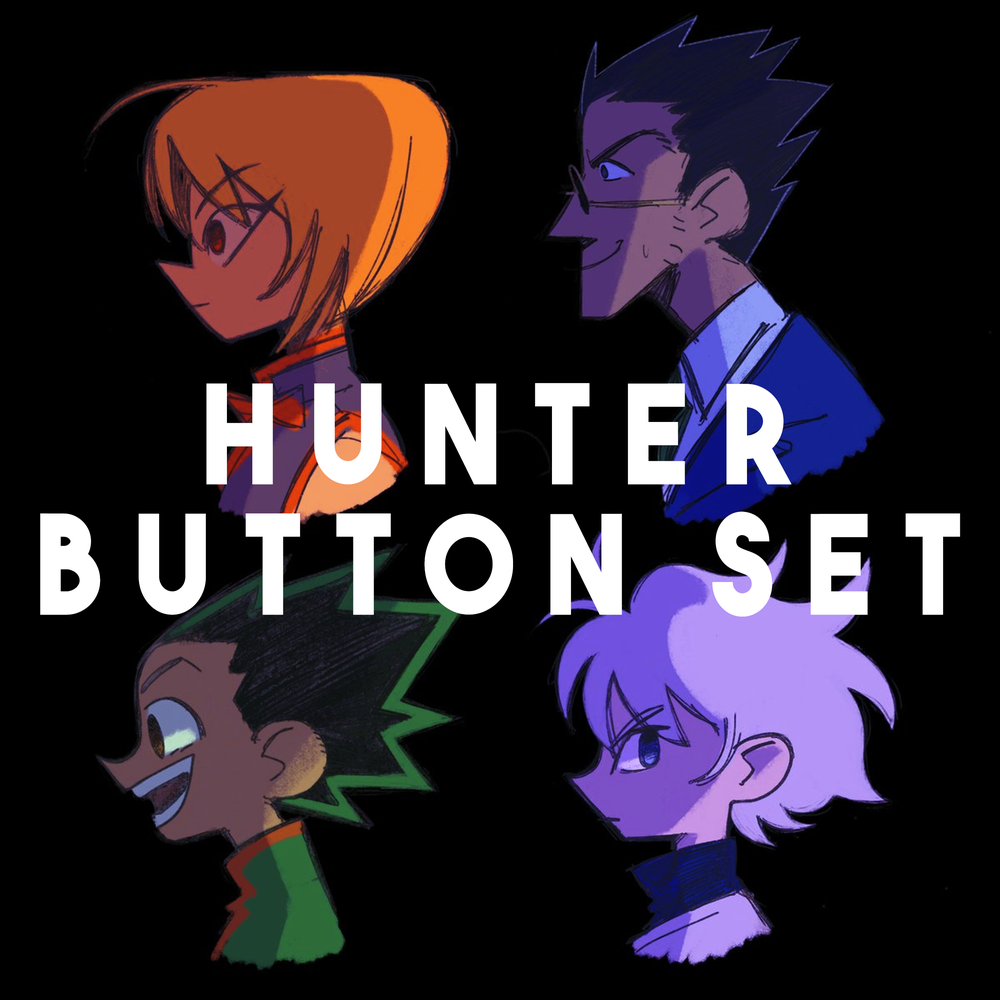Image of HxH Button Pack