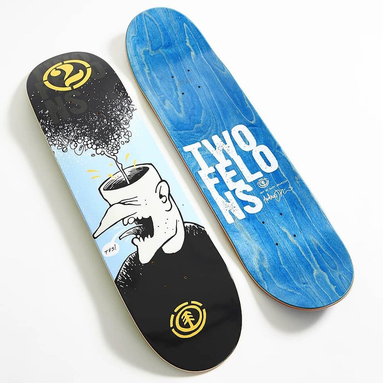 Image of Two Felons X Element Skateboards collabo