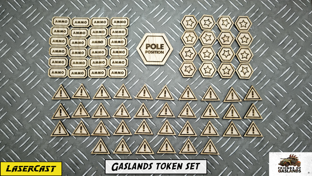 Image of Gaslands token set