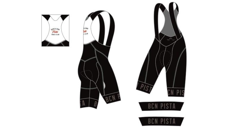 Image of Bib Shorts - Barcelona Pista '18