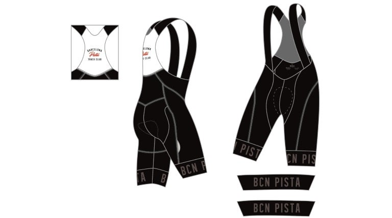 Image of Bib Shorts - Barcelona Pista '18