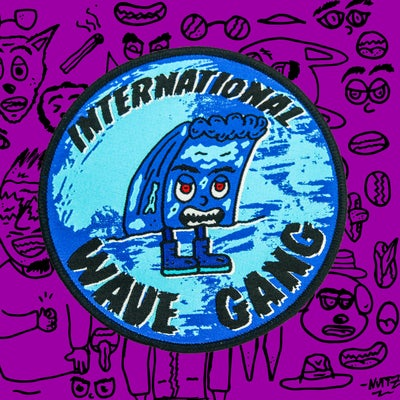 Image of INTERNATIONAL WAVE GANG PATCH