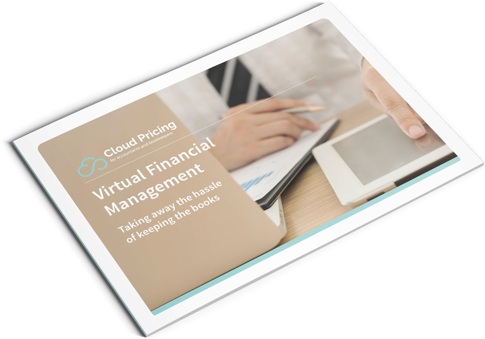 Image of Virtual Financial Management Brochure Design