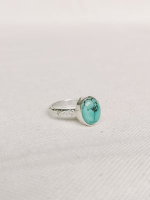 Image of Bague turquoise - taille 54 - ref. 3866