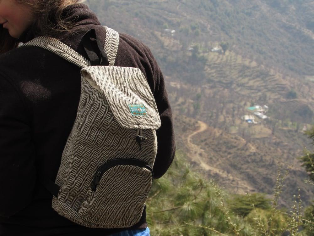Zodiac - Hemp Daypack | 100% Vegan | Eco Friendly | Handmade | Himalayan Hemp