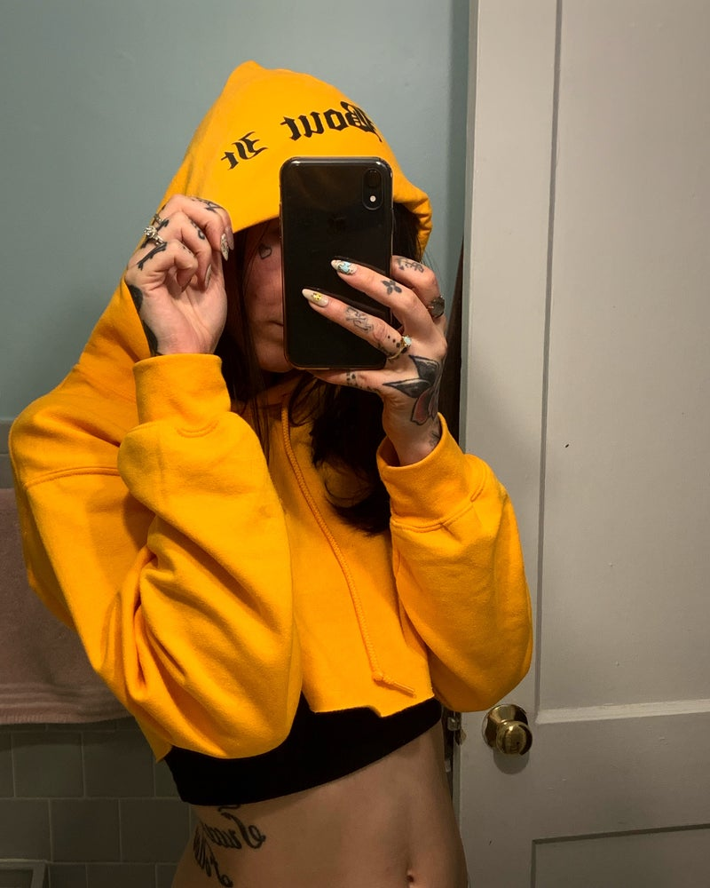 Image of Cry Bout It unisex hoodies • PREORDER
