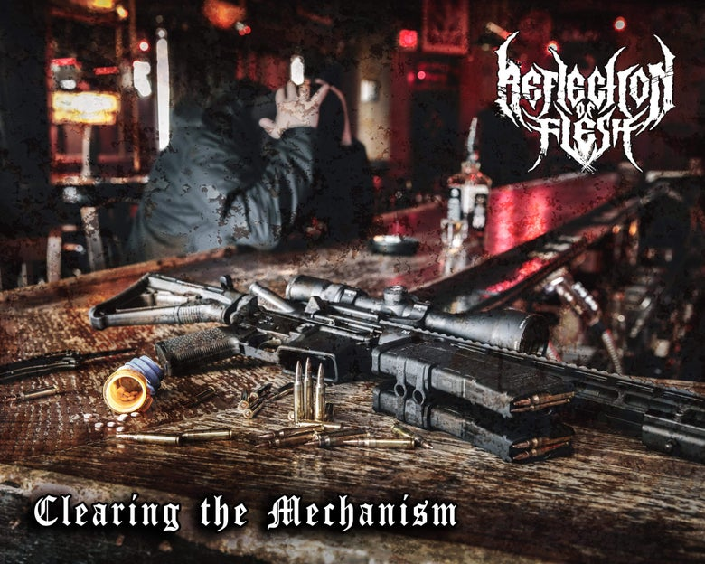 "Image of Reflection of Flesh ""Clearing the Mechanism"""