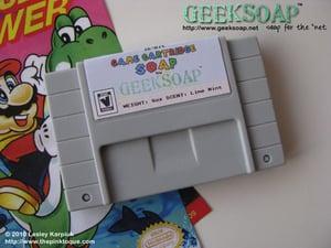 Image of 16-Bit Game Cartridge GEEKSOAP