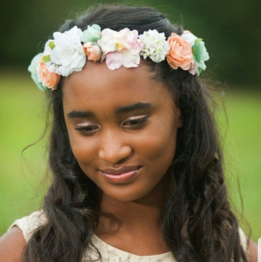 Image of Custom Flower Crown