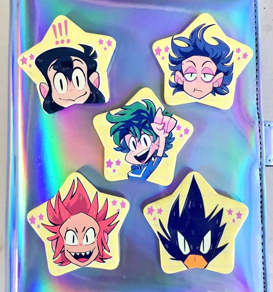 Image of BNHA BUTTONS