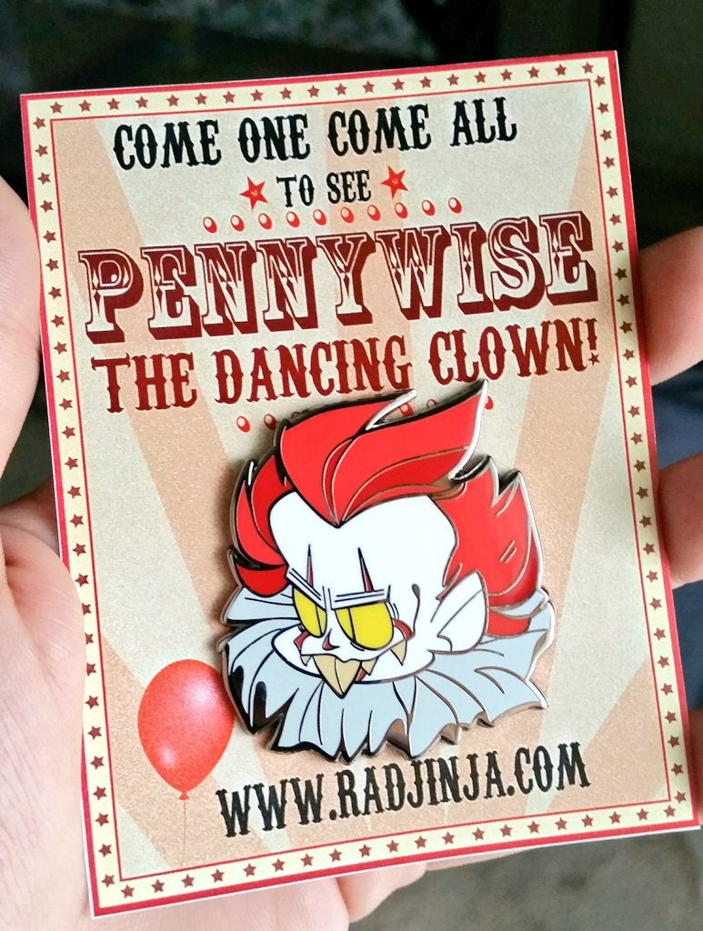 Image of PENNYWISE ENAMEL PIN