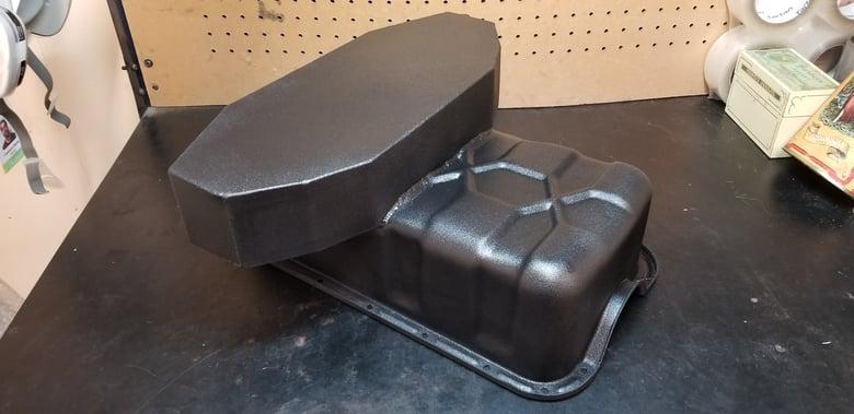 Image of 68-73 510 Vg30e swap oil pan