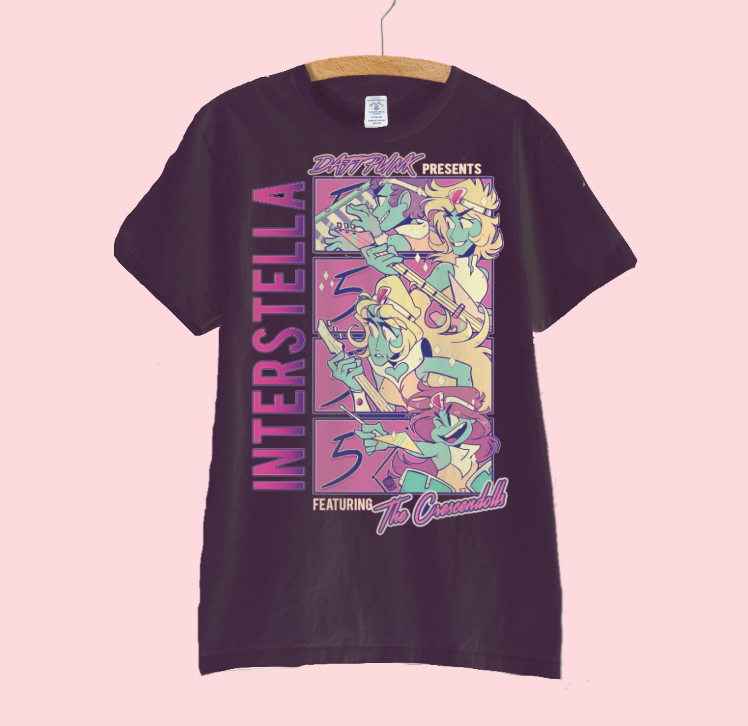 Image of INTERSTELLA 5555 T SHIRT