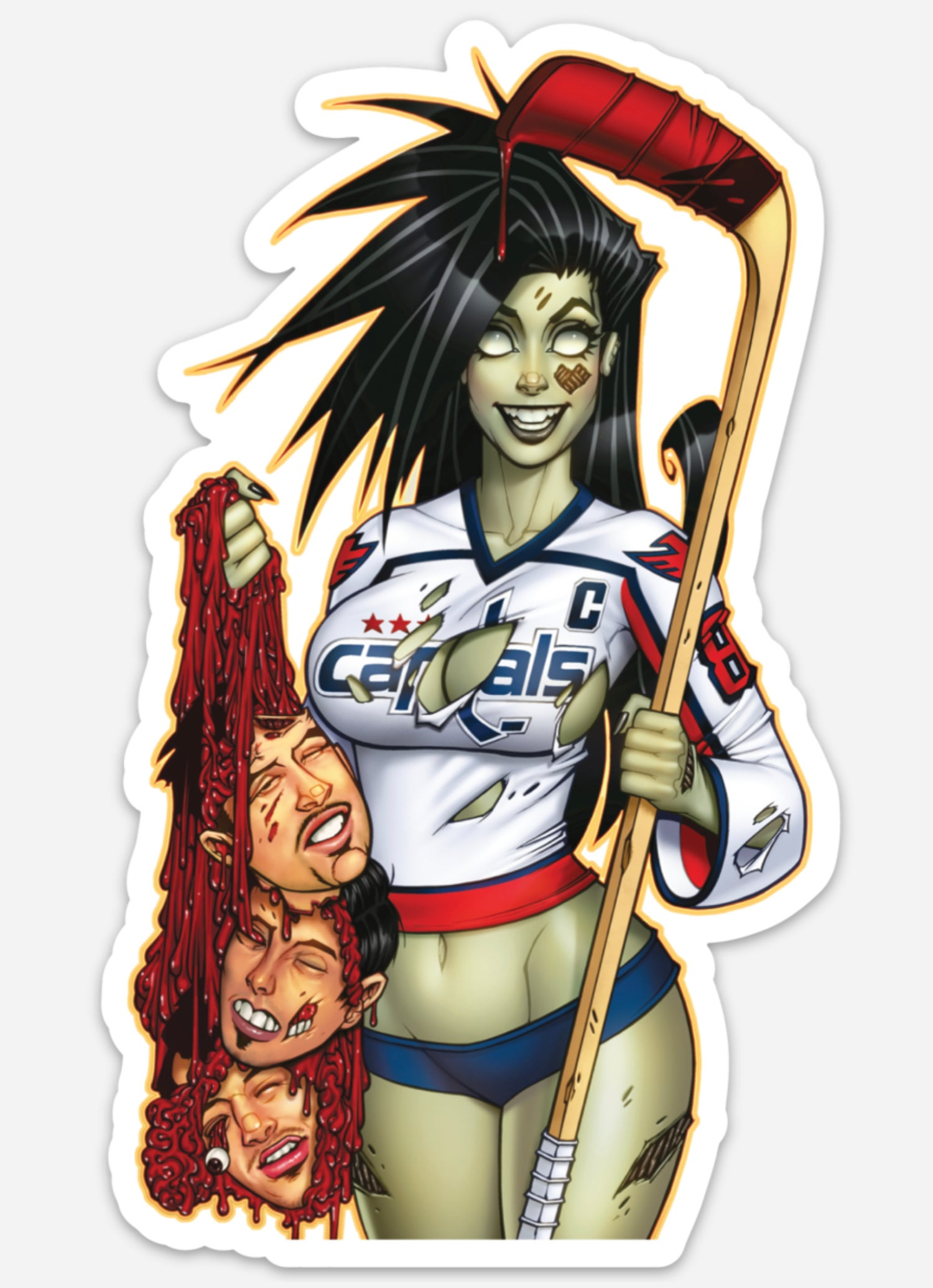 Image of Hockey Heads Sticker