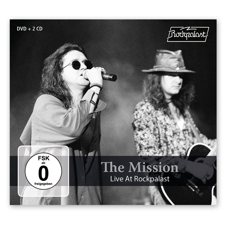 Image of The Mission Live At Rockpalast 2CD + DVD