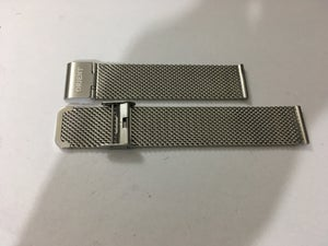Image of ORIENT STAINLESS STEEL SHARK MESH GENTS WATCH STRAP,18MM,20MM,22MM,NEW