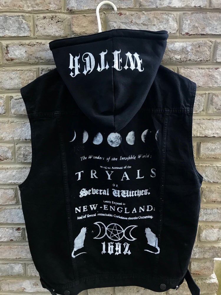 Image of Witch Tryals Hooded Vest