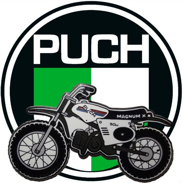 Image of Puch Magnum X Enamel Pin