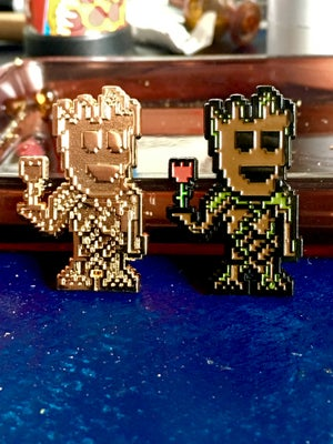 Image of 8 Bit Groot Pin