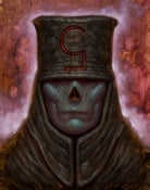 "Image of ""High Preist of Shame"" Canvas Giclee 11x14"""