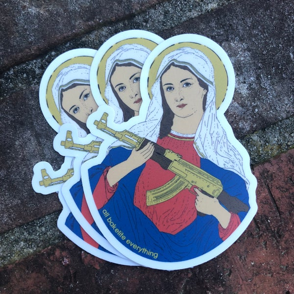 Image of Our Lady Stickers (3-pack)