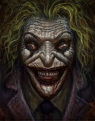 "Image of ""Joker"" Canvas Giclee 11x14"""