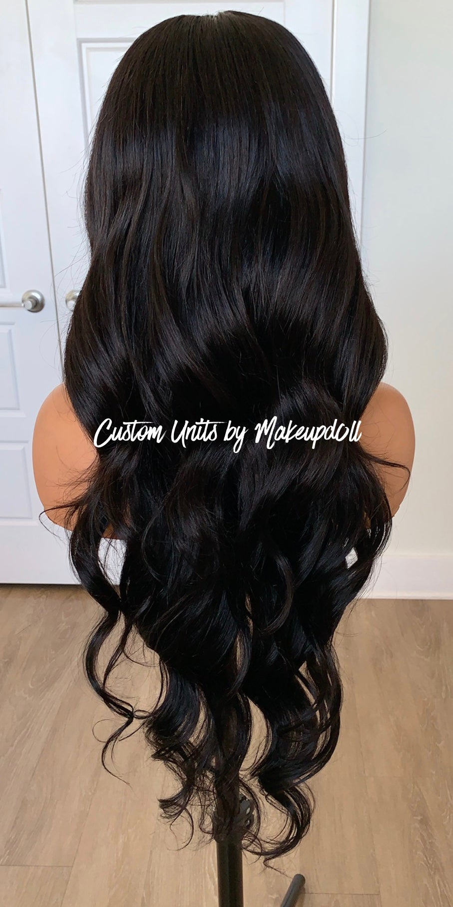 "Image of Brazilian Body Wave 28"" Lace Closure Wig!"