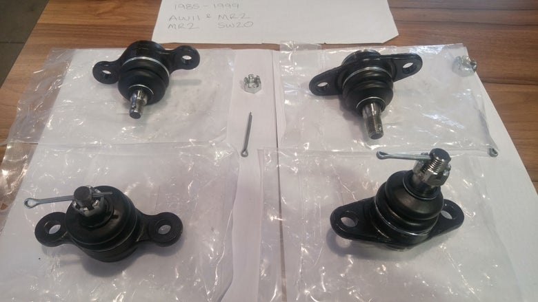 Image of 1985-1999 TOYOTA MR2 SW20 AW11 FRONT AND REAR BALL JOINTS