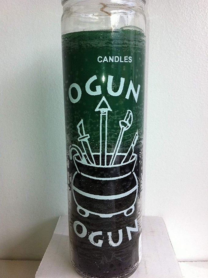 Image of Orisha Ogun 7 Day Candle