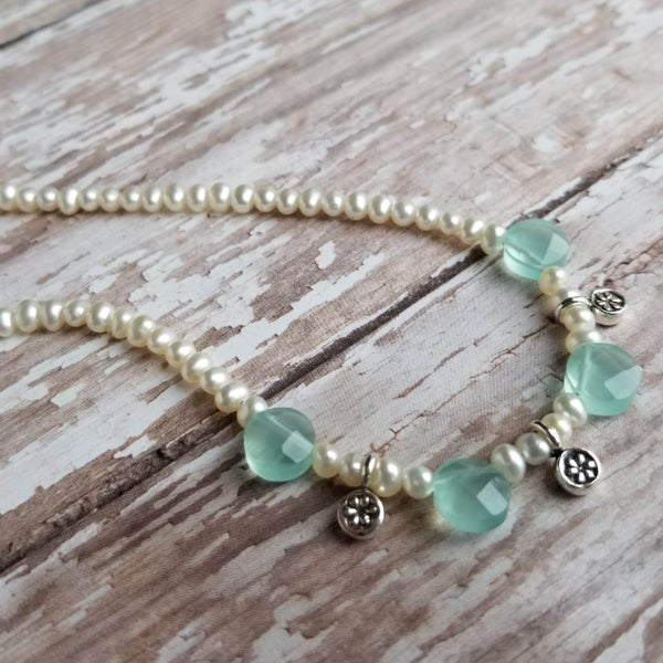 Image of Seafoam Celebration Necklace