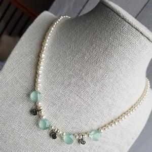 Image of Seafoam Celebration Necklace