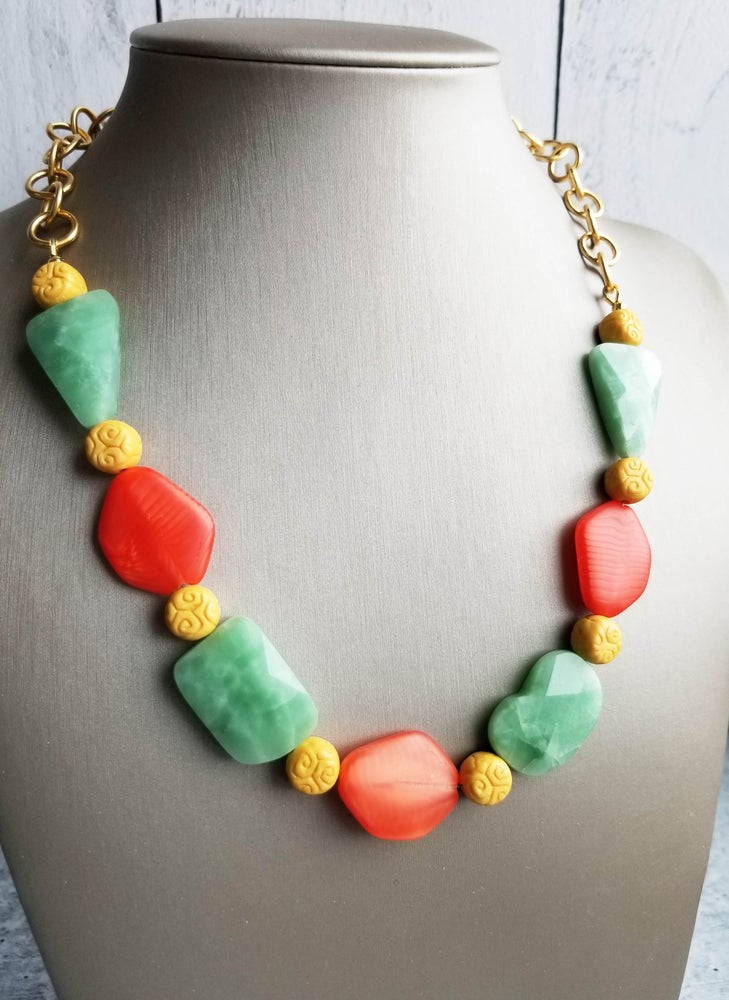 Image of Tutti Frutti Summer Necklace