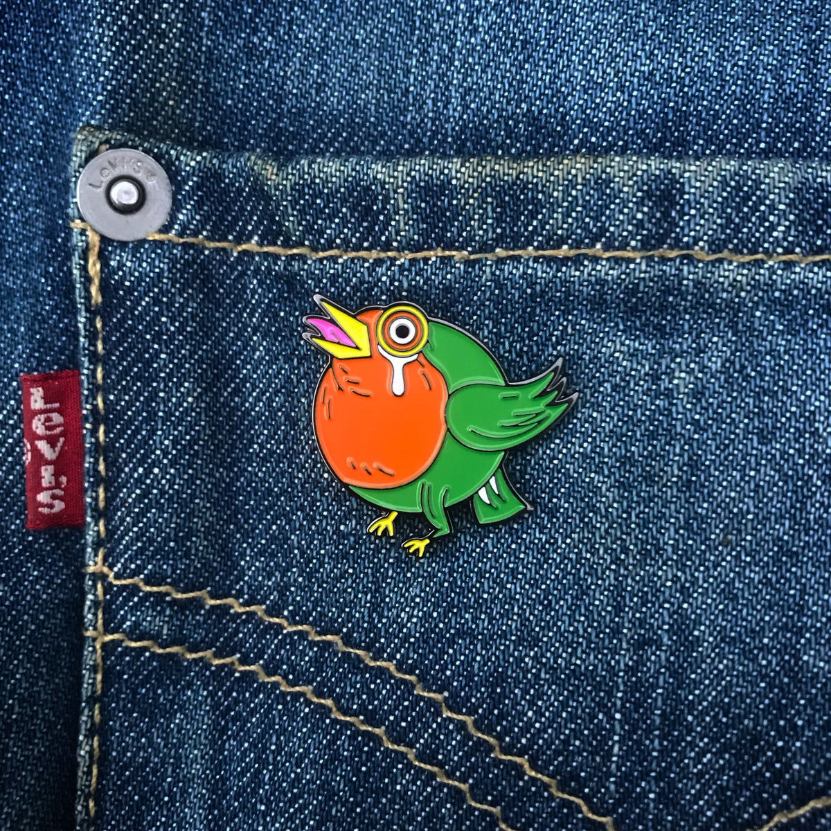 Image of Round Robin Pin