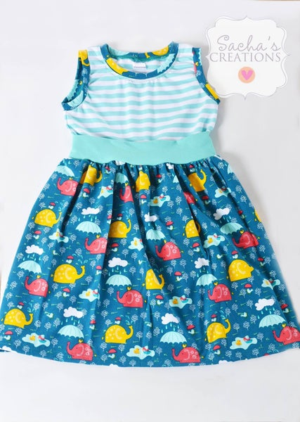 Image of Elephant Showers tank dress