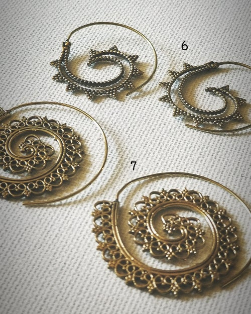 Image of • Swirls & Hoops